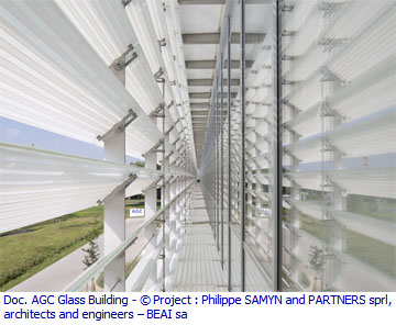 Intérieur AGC Glass Building - Philippe SAMYN and PARTNERS - BEAI sa