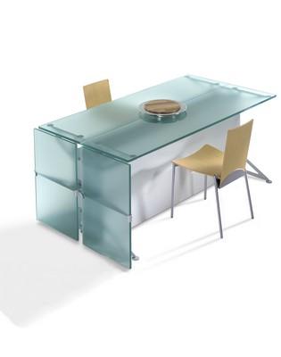 Produits verriers verre d coratif mobilier tablettes - Table verre trempe ...